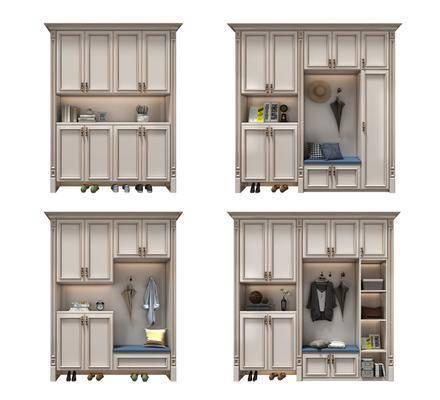 衣柜, 置物柜, 装饰柜架
