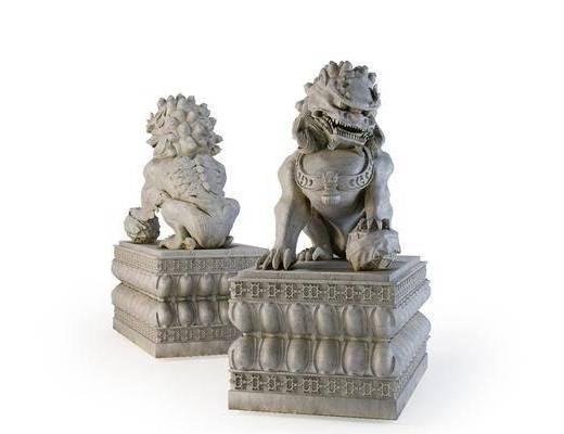 装饰品, 雕塑, 雕刻, 摆件组合