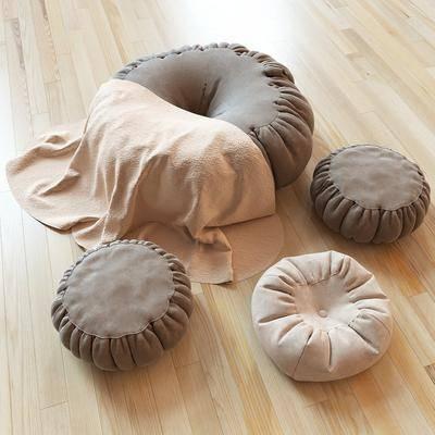 布艺脚凳, 沙发脚踏, 现代