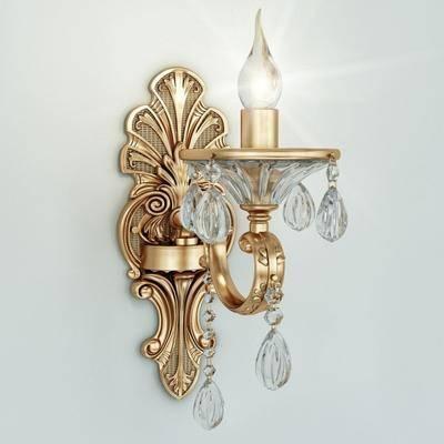 壁灯, 欧式壁灯, 灯, 灯具