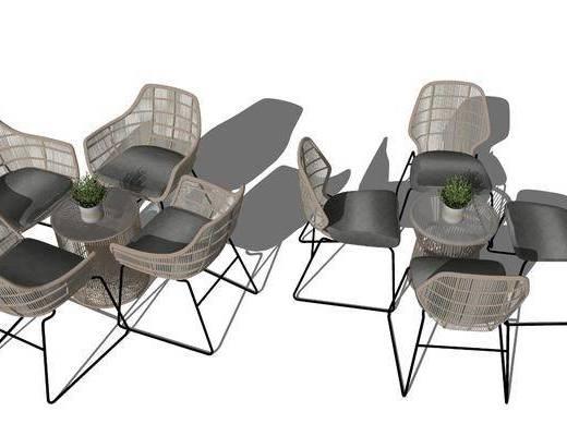 户外椅, 桌椅组合, 茶几