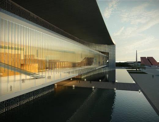 现代, 建筑, 户外建筑