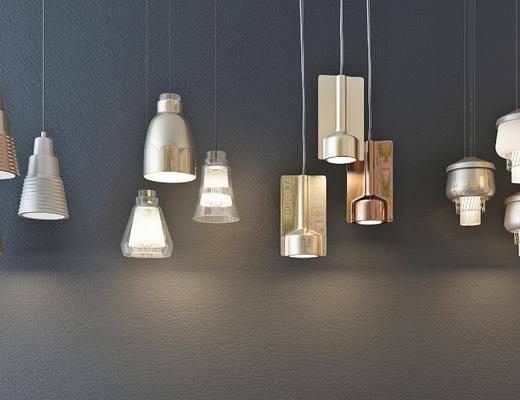 吊燈, 燈具組合, 吊燈組合