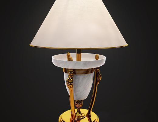 美式简约, 后现代, 台灯, 美式台灯