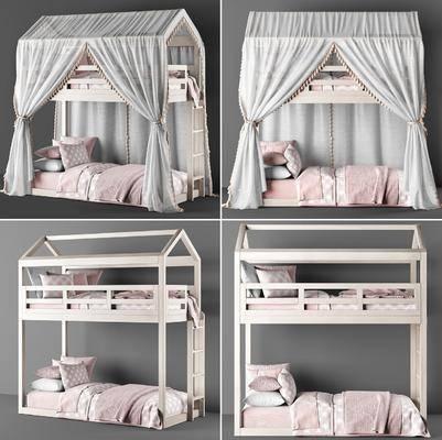 现代上下床, 上下床, 双层床, 儿童床