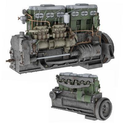 柴油发动机, 引擎, 马达