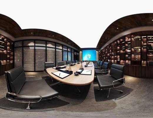 公共, 会议室, 工装