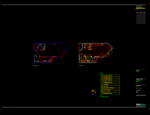 CAD, 施工图, 家装施工图, 平面图