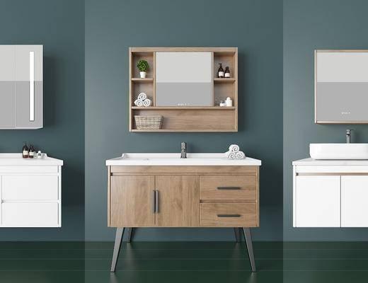 浴室柜, 卫浴, 洗浴组合