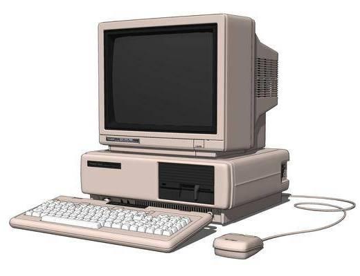 现代台式电脑, 老式CRT显示器S