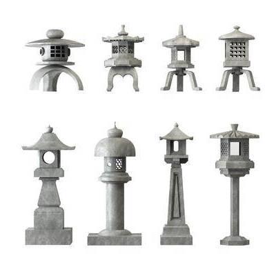 户外灯, 日式, 新中式, 庭院灯