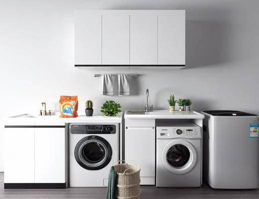 现代, 洗衣机, 组合