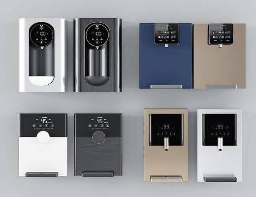 现代挂式饮水机