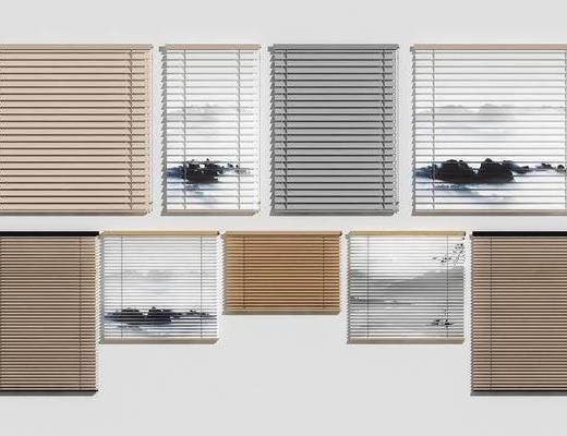 新中式百叶窗, 百叶窗组合