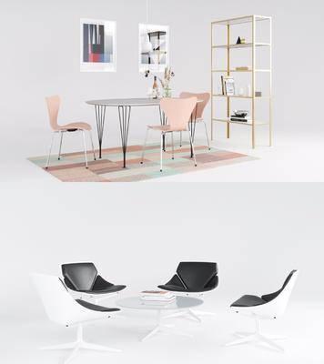 現代餐桌, 餐桌, 餐桌椅