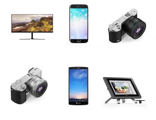 手机, 电视机, 相机
