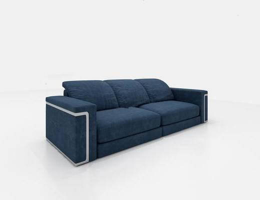 沙发组合, 多人沙发