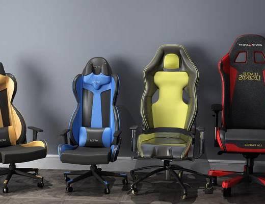电竞椅, 办公椅, 单椅