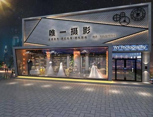 婚纱店, 服装店
