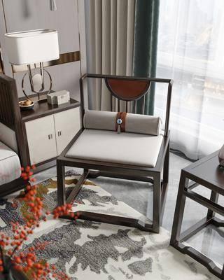 新中式, 单椅, 组合