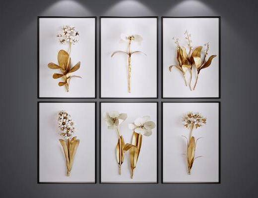 植物画, 装饰画, 现代