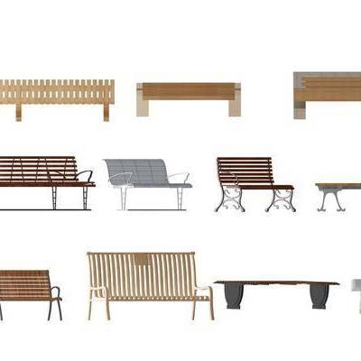 公园椅, 长椅