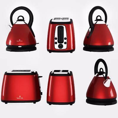 面包机, 烧水壶组合, 家用电器, 现代