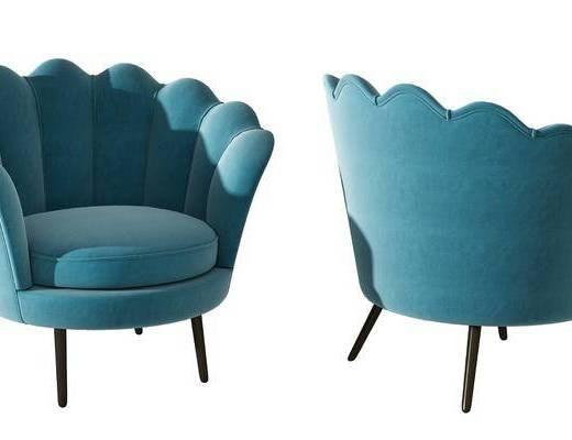 沙发椅, 椅子, 单体