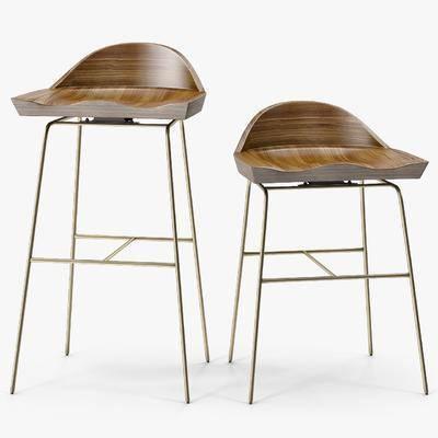 吧椅, 吧凳, 高脚凳, 凳子, 现代