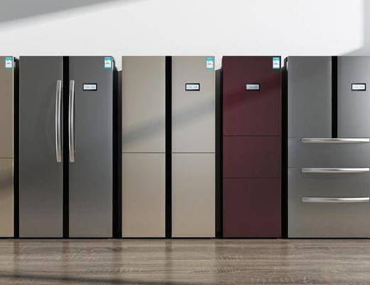冰箱组合, 家用电器, 现代
