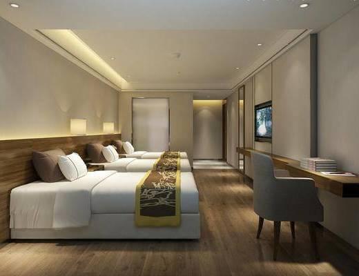 新中式, 宾馆, 过道