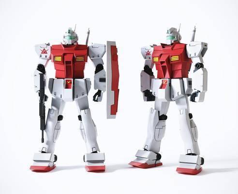 高达吉姆机器人玩具摆设
