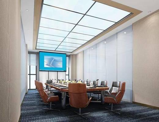 會議室, 辦公桌椅組合, 現代
