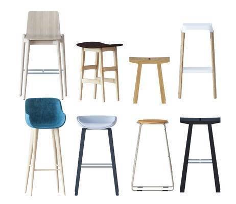 吧台, 吧椅, 单椅, 休闲椅