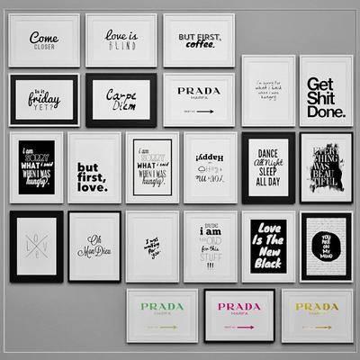 挂画, 墙饰, 现代