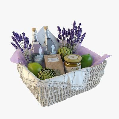 食物, 水果, 植物, 花卉, 薰衣草, 水果篮, 现代