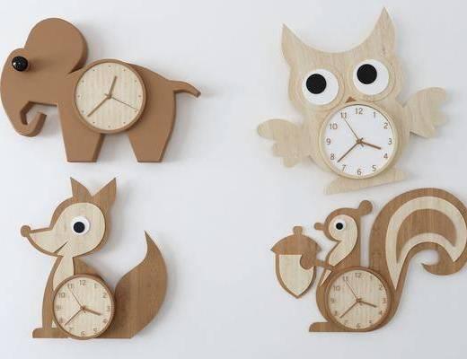 现代, 挂件, 钟表