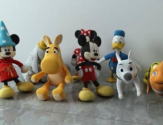 玩具組合, 玩具玩偶, 現代