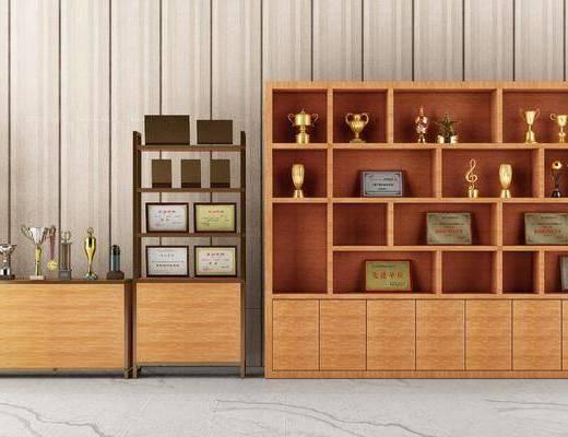 柜架组合, 置物柜