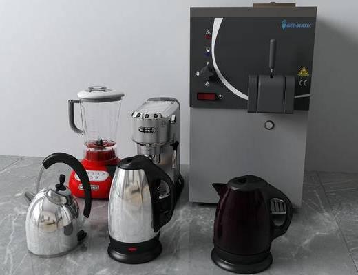 咖啡机, 茶壶