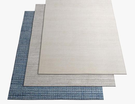 现代简约, 地毯, 花纹地毯
