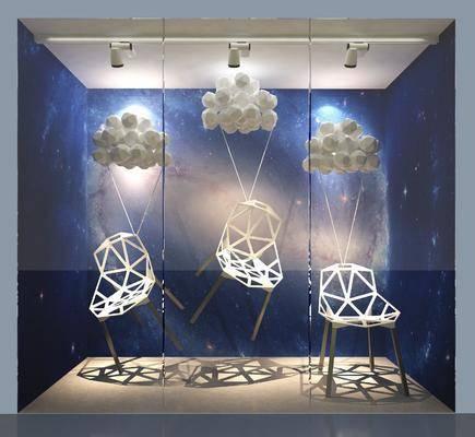 椅子橱窗, 现代