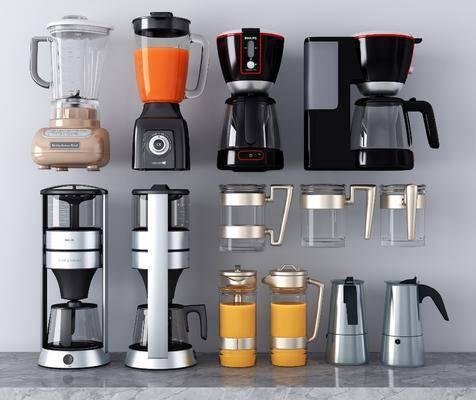 咖啡机, 电器, 饮水机, 榨汁机