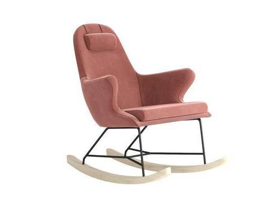 现代, 沙发, 单体