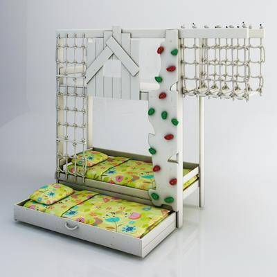儿童床, 上下床, 双层床