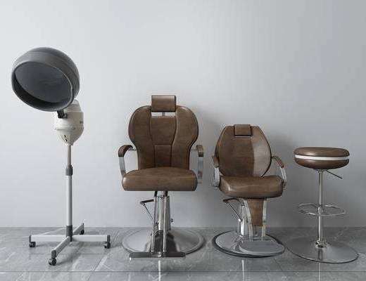 皮革椅, 单椅, 休闲椅