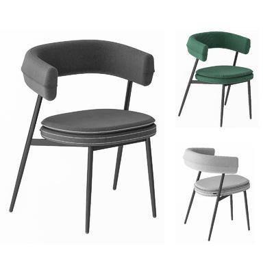 北欧, 简约, 餐椅, 单体