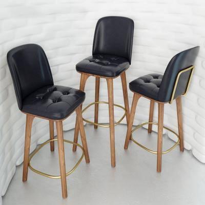 高脚凳, 吧椅, 现代