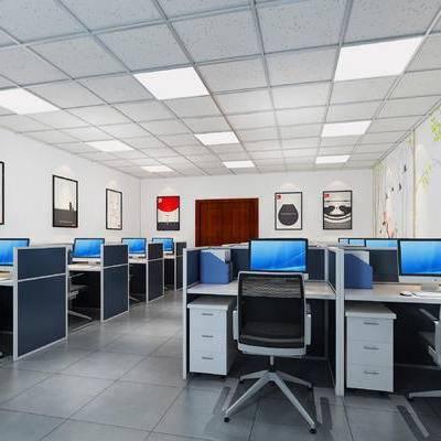 办公室, 员工办公室, 现代办公室