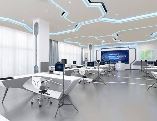 虚拟应用区, 体验馆, 工装